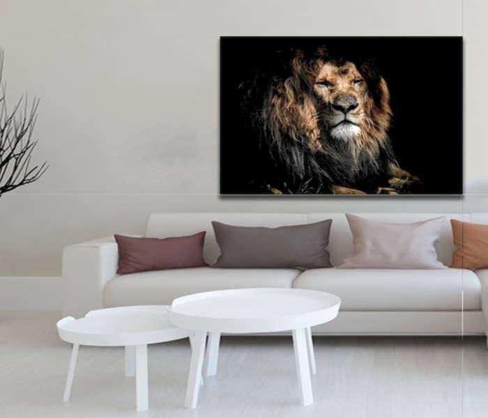quadro-decorativo-leao-dourado-canvas-320-gramas-quadros-para-enfeitar-a-sala